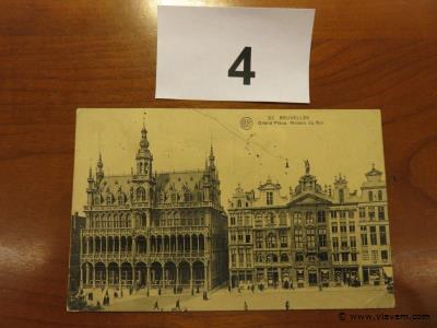 Postkaart Brussel