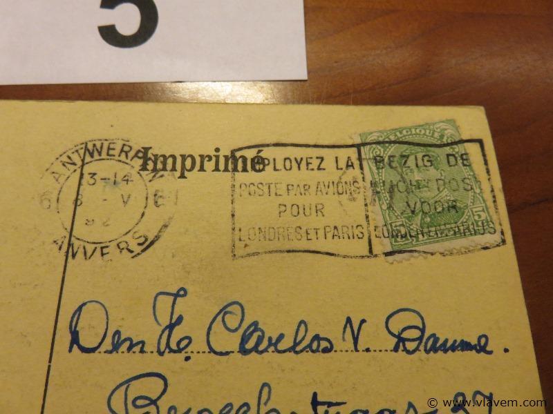 Postkaart Antwerpen