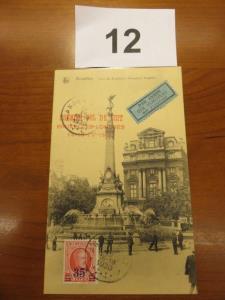 Postkaart Bruxelles luchtpost 1930