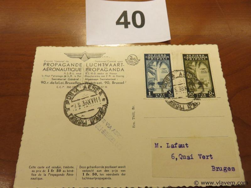 Postkaart Leopold III
