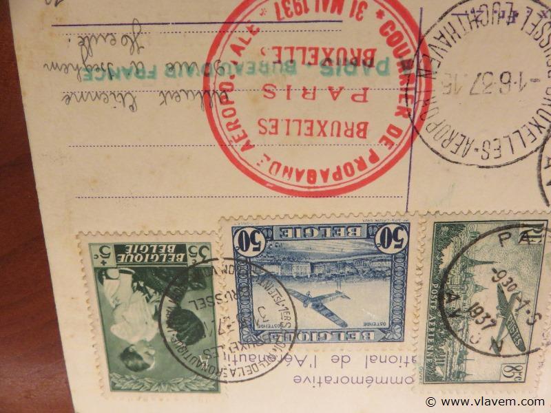 Postkaart 1937