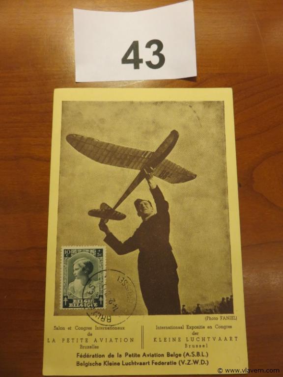 Postkaart 1938
