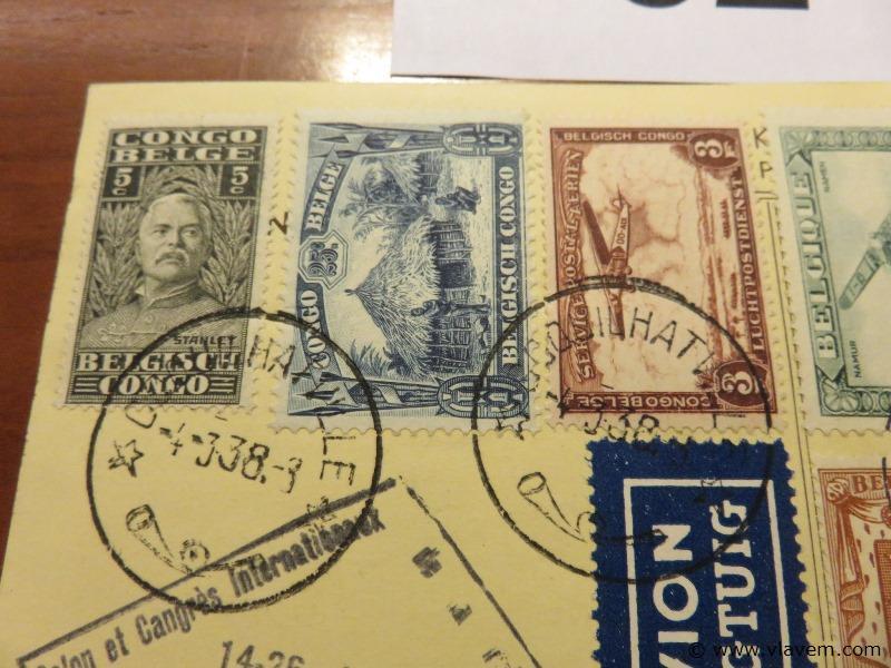 Postkaart Kleine luchtvaart Brussel