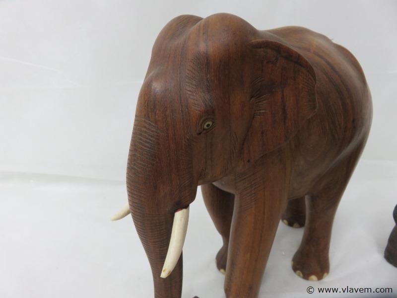 Houten olifanten
