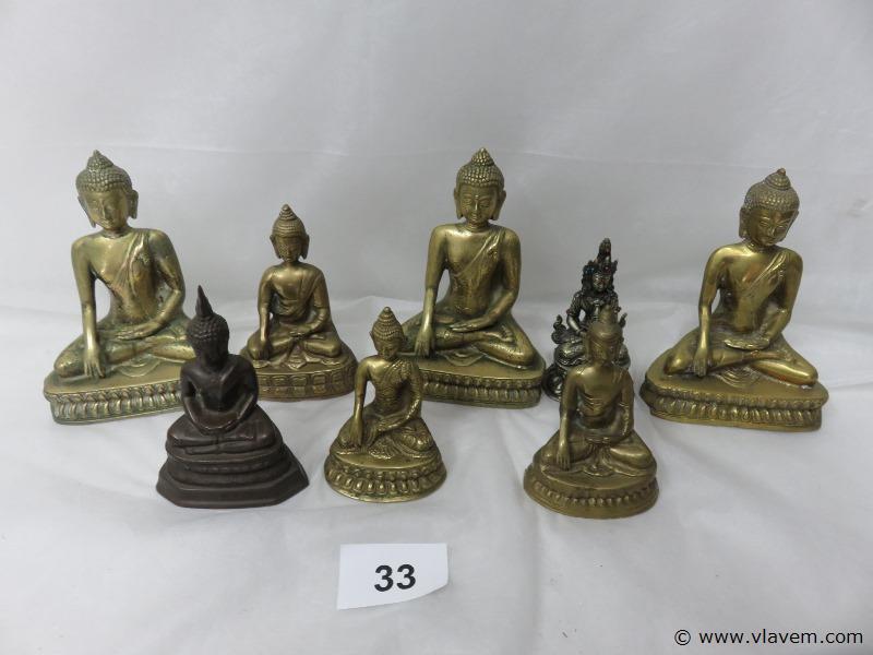 Lot Buddha beelden