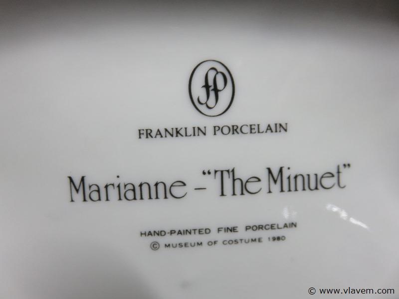 Beeld Franklin mint