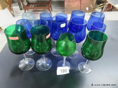 Italiaanse glazen