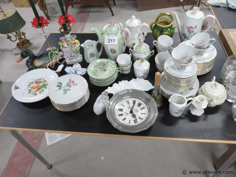 Groot lot brocante