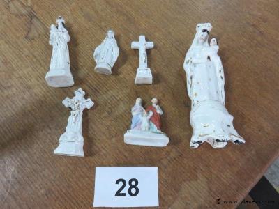 Lot devotica beeldjes