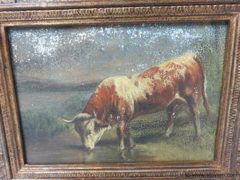 Antieke schilderij