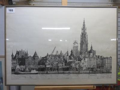 Pentekening Antwerpen