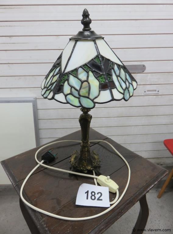 Lamp loodglas
