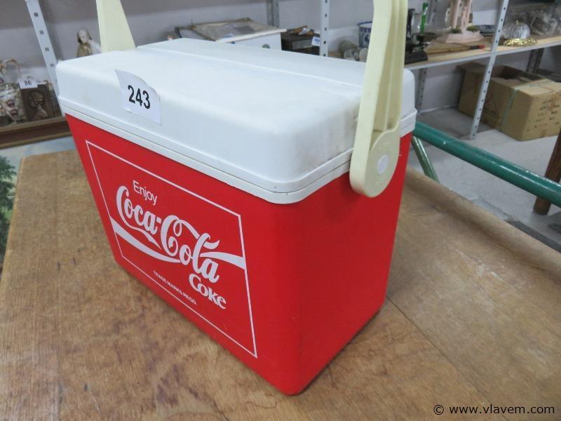 Vintage koelbox Coca-cola