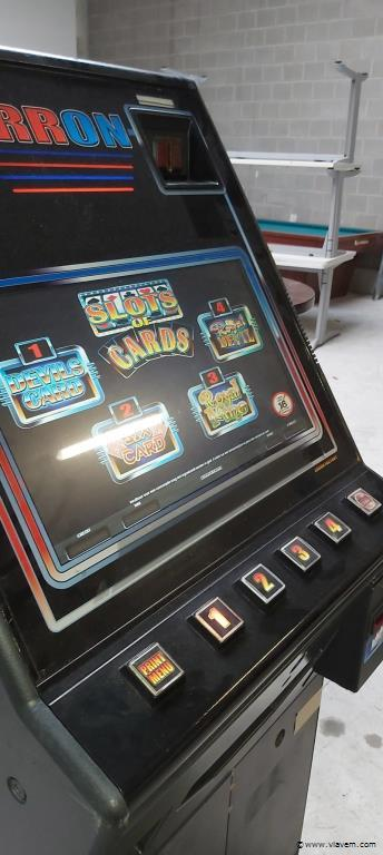 Slots of cards