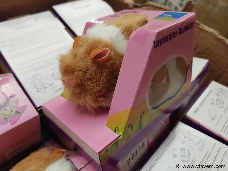lopende hamsters
