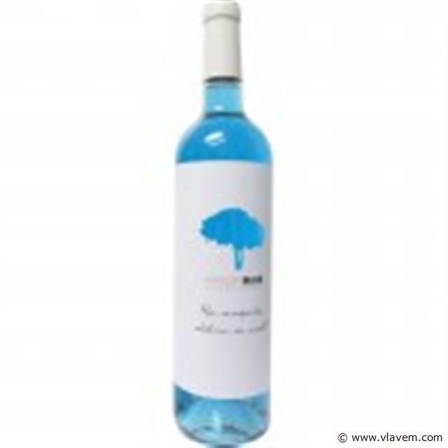 blauwe wijn