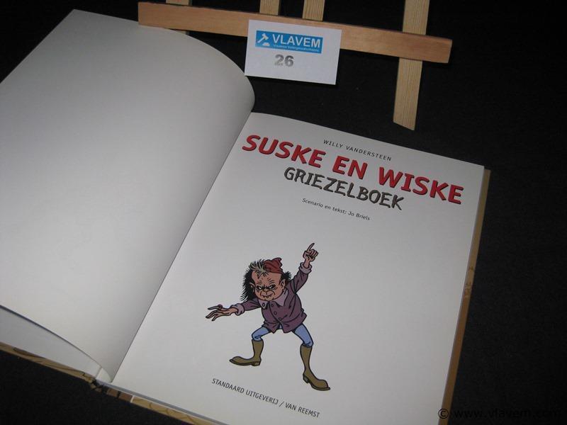 Griezelboek Suske en Wiske in nieuwe staat
