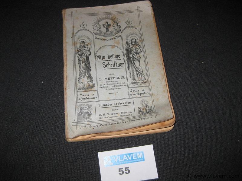 Oud boekje mijn heilige schriftuur