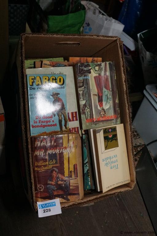 Doos oude boeken
