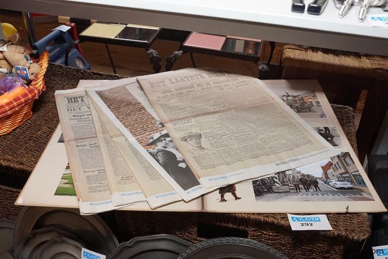 Heruitgave oude kranten 1914.