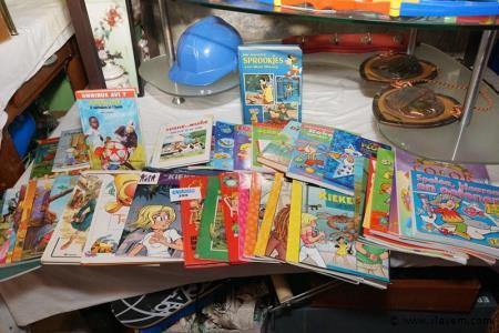 Grote partij strips en kinderboeken