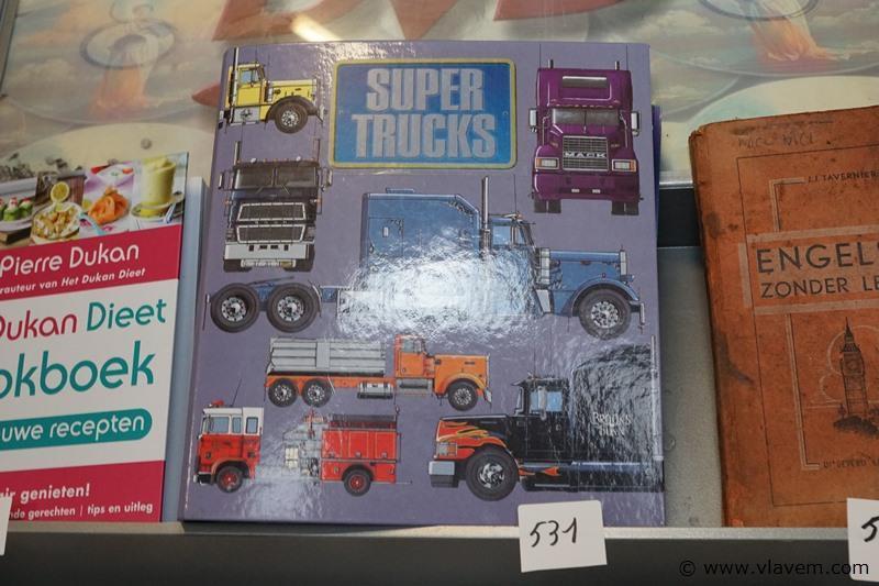 Map met foto's van trucks
