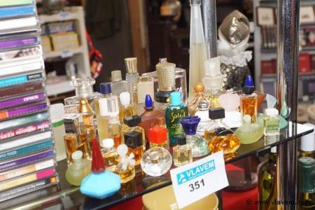 Partij mini parfumflesjes