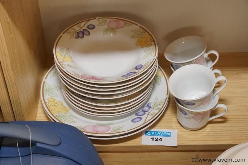 Chinese bordjes en tasjes
