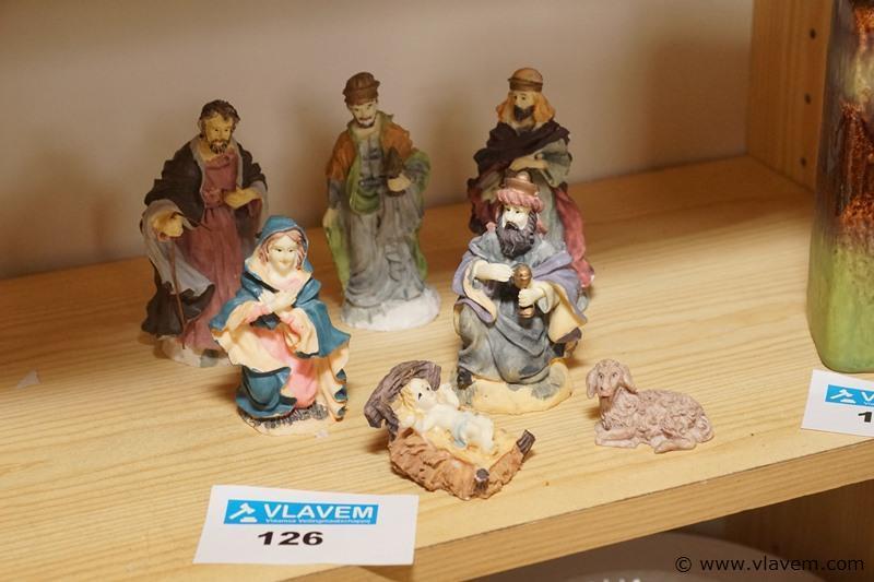 Oude kerstbeelden