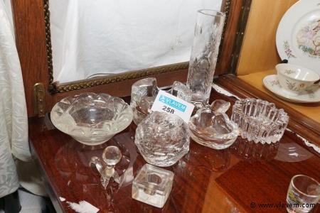 Decoratie in glas