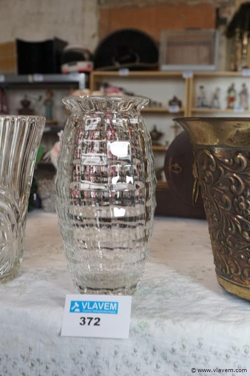 Vaas in halfkristal