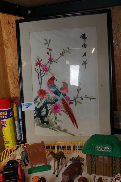 Chinese kader met borduur