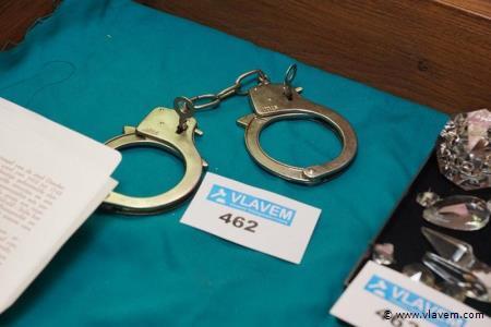 Handboeien met 2 sleutels