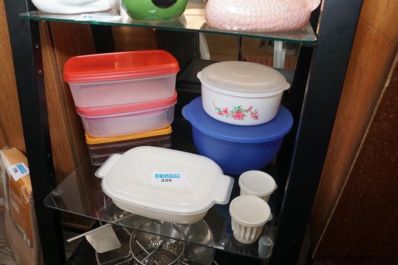 Keukenvoorraaddozen wo. Tupperware