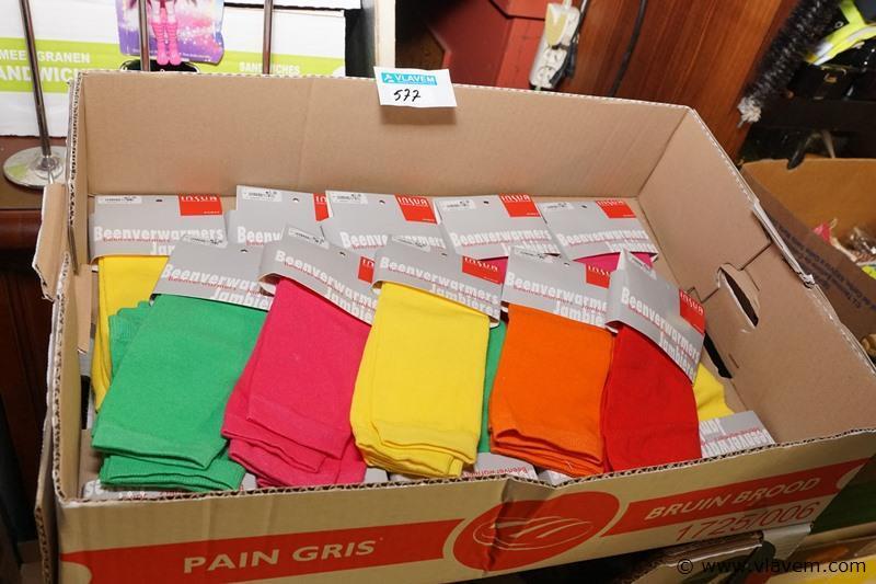 Beenwarmers in diverse kleuren