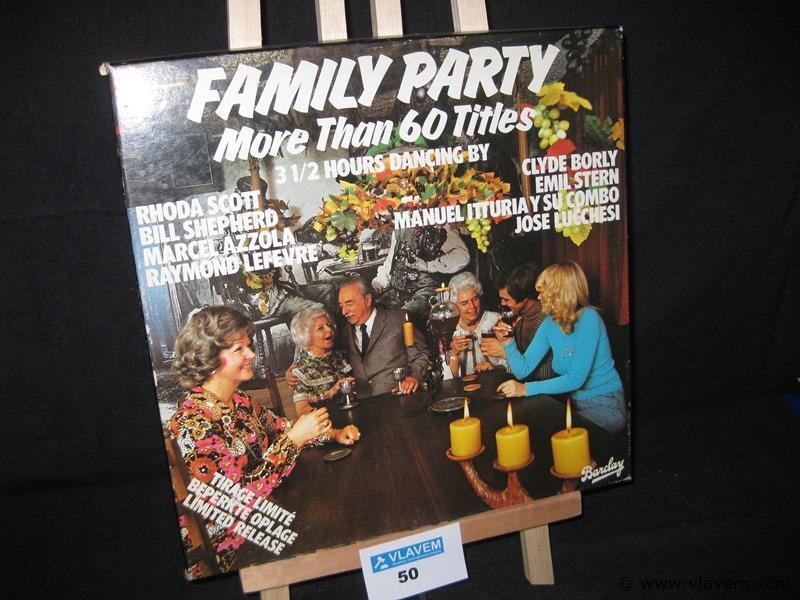 LP.4 stuks in boek Family party