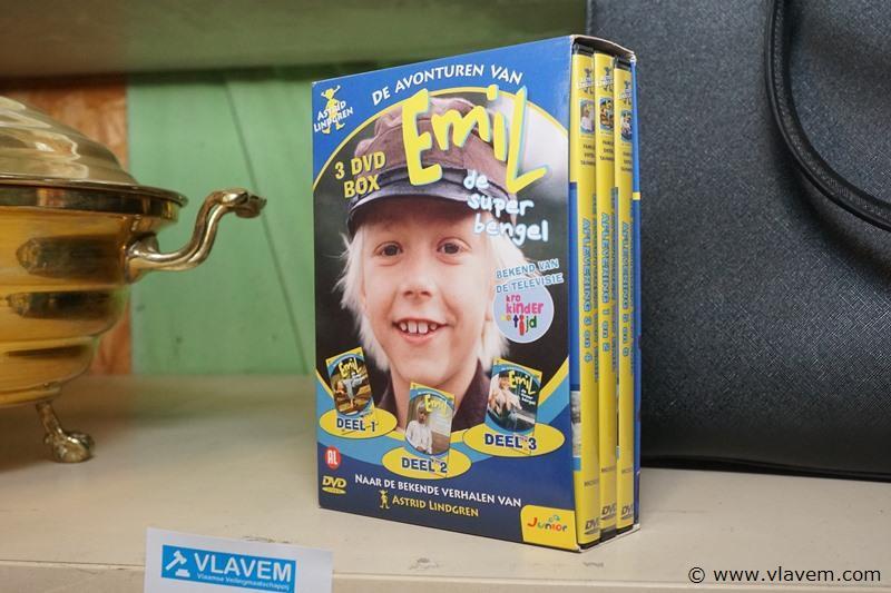 DVD box Emil
