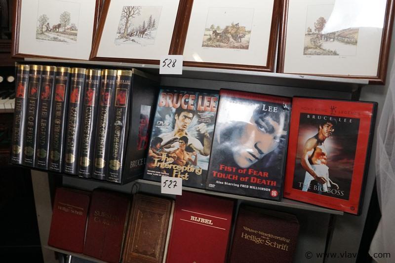 Video's en dvd's Bruce Lee