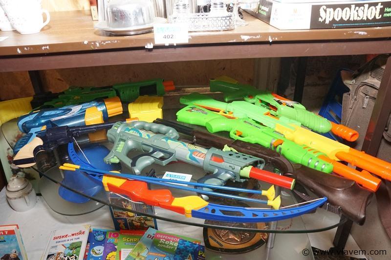 Kinderspeelgoed waterpistolen ea.
