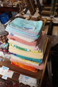 Mooie partij handdoeken en washandjes waarvan ongebruikt