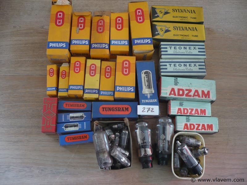 oude radio lampen