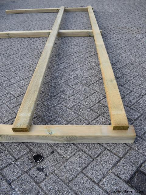 Paarden omheining   pro 2 regels  25 lopende meter