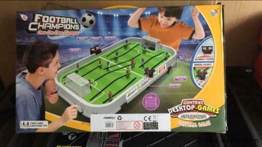 Voetbal game klein