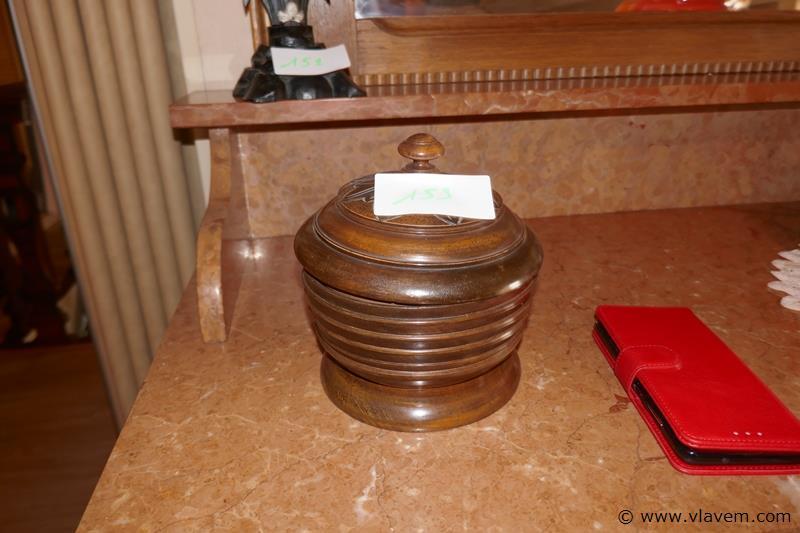 Tafelpot in hout