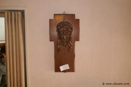 Kruisbeeld in hout