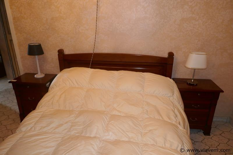Slaapkamer in kerselaar