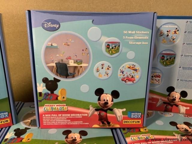 Disney muurstickers nieuw in doos