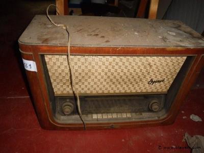 antieke radio (werking onbekend)