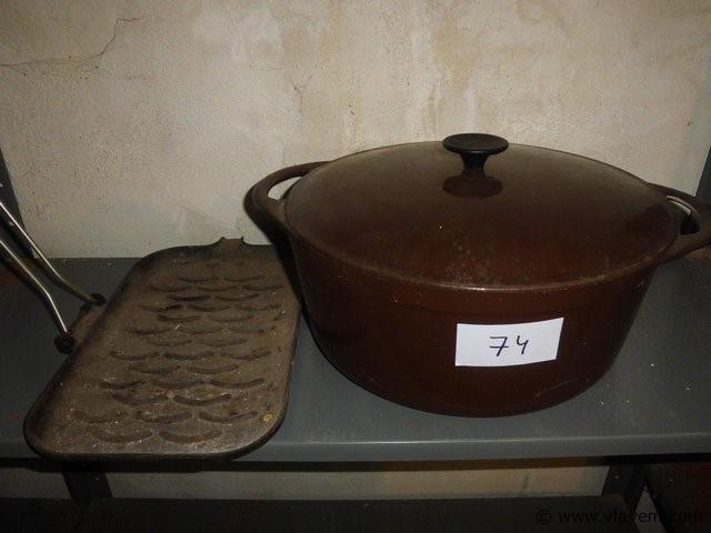 kookpot Crousances + braadpan