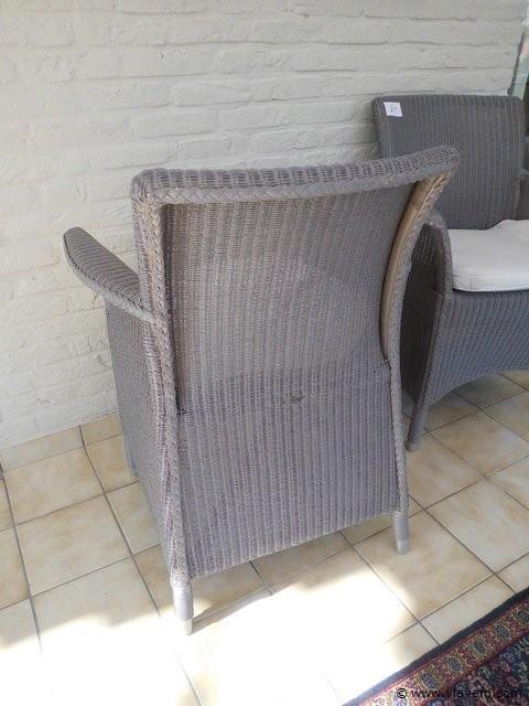 koppel wicker stoelen